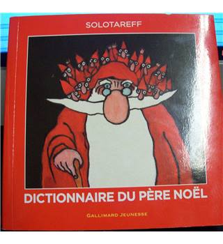 Dictionnaire Du Pere Noel French Edition