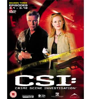 CSI - Crime Scene Investigation - Season 3 - Part 1 12A