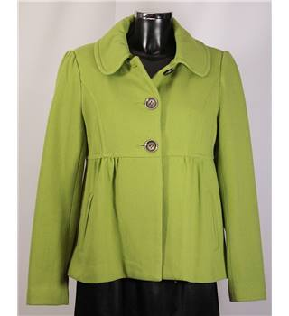 New Look Jacket - Pale Green - Size 12 New Look - Size: 12 - Green