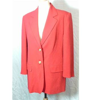 Bianca- Size 10 Red Jacket Bianca - Size: 10 - Red
