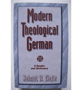 Modern Theological German - A Reader and a Dictionary