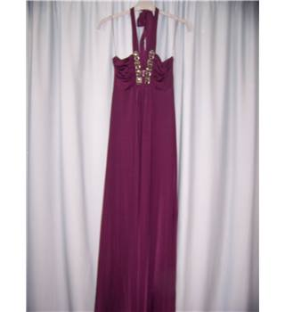 New Look - Size: 8 - Purple - Long dress
