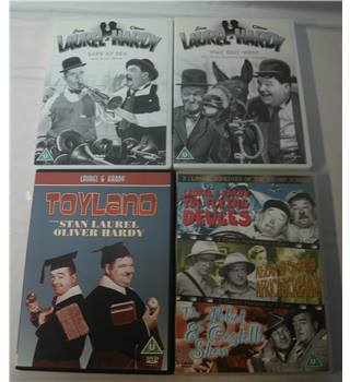 Laurel and Hardy DVD Bundle U