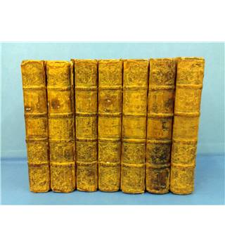 The Works of Mr William Shakespeare  7 Volumes of nine Jacob Tonson 1747