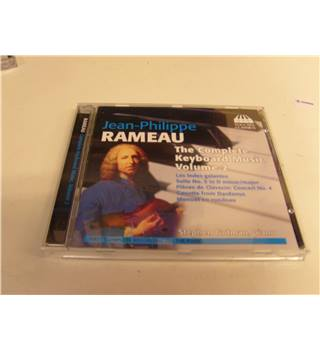 Jean-Philippe Rameau The Complete Keyboard Music Vol 2 Stephen Gutman piano Toccata Classics CD TOCC0051