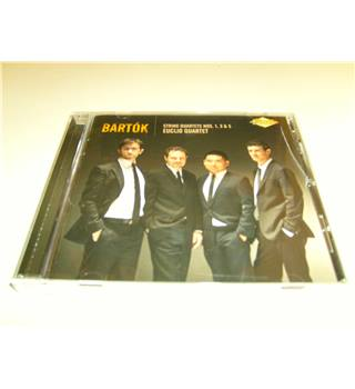 Bartok String Quartets Nos. 1,3, and 5 The Euclid Quartet Artek CD AR-0060-2