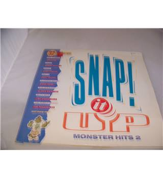 snap it up monster hits 2 various artists - hits 12 DOUBLE LP