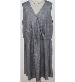 BNWT Junarose size: XL silver sleeveless dress
