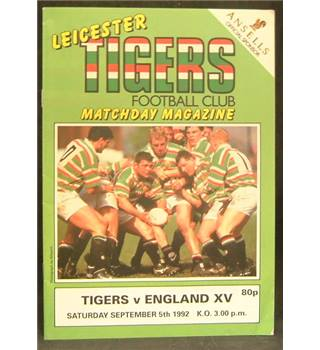 Rugby Programmes - 4 Miscellaneous
