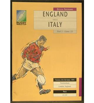 Rugby World Cup 1991 - England vs Italy