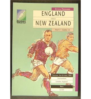 Rugby World Cup 1991 - England vs New Zealand
