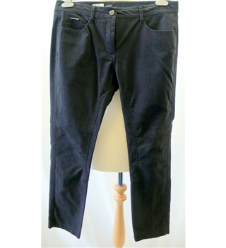 M&S Autograph - Size: 12 Navy Trousers