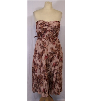Coast Size 12 Pink Mix Floral Dress