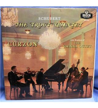 Early Pressing. Schubert The 'Trout' Quintet. Curzon & Vienna Octet