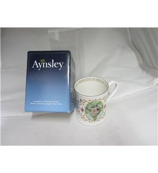 Aynsley English fine bone china mug Princess Diana in box