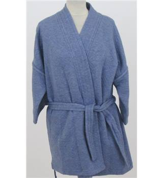 NWOT M&S Marks & Spencer  Size: 22 Chambray Blue dressing gown