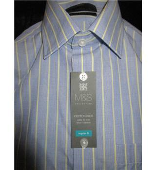 M&S Marks & Spencer - Size: S - Blue