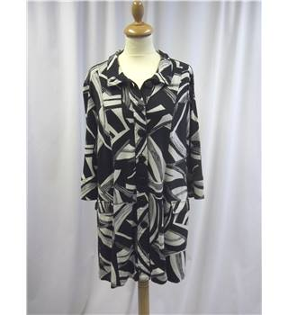 Adini - Size: L - Black - Mid sleeved shirt
