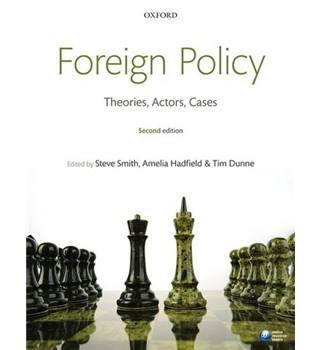 Foreign policy - Theories/Actors/Cases