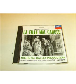 La Fille Mal Gardee by Herold-Lanchbery Played By the Orchestra of the Royal Opera House John Lanchbery DECCA 430 196-2 CD
