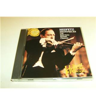 Heifetz Showpieces Lalo, Saint-Saens, Sarasate, Chausson Conducted by William Steinberg CD BMG Classics 09026 61753 2