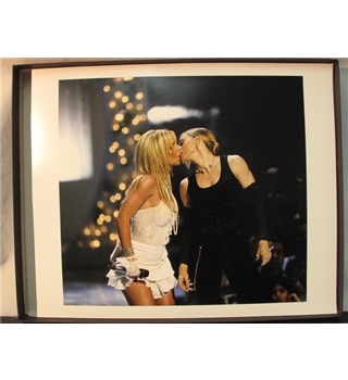 "Getty Images Gallery Print by Dave Hogan of  ""The Kiss""  : Britney Spears & Madonna"