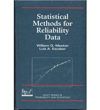 Statistical Methods for Reliability Data. 1998