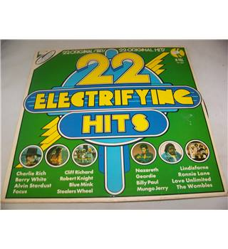 22 electrifying hits various artists - te 301