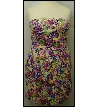 Oasis - Size: 16 - Multi-coloured - Mini dress