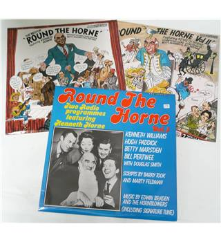 Round The Horne Vols 1,2 & 3 - Round The Horne - REC 193/240/296 (3 LPs)