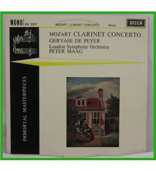 Mozart - Clarinet Concerto in A major, K.622 - Gervase De Peyer, London Symphony Orchestra cond.  Peter Maag - BR3057