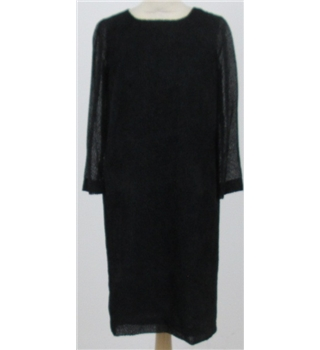 Jaeger size: 10 black velvet dress