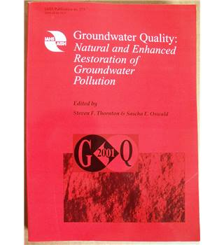 Groundwater Quality: Natural and Enhanced Restoration of Groundwater Pollution