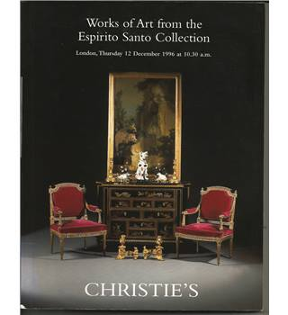 Christie's - Works of Art from the Espirito Santo Collection