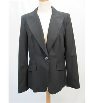 Warehouse - Size: 12 - Black - Smart jacket
