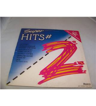 Super Hits #2 Various Artists - rtl 2058 - b