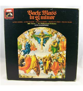 Bach - Mass in B Minor. Klemperer, BBC Chorus, New Philharmonia Orchestra - SLS 930