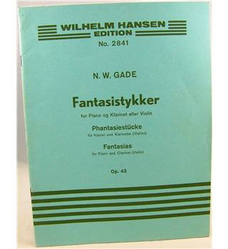 N. W. Gade - Fantasias for Piano and Clarinet (Violin).