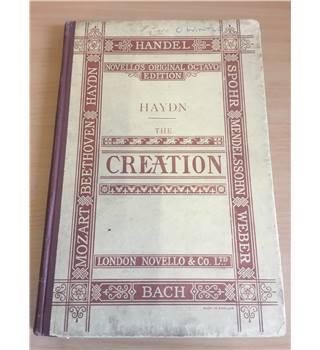 The Creation An Oratorio in Vocal Score
