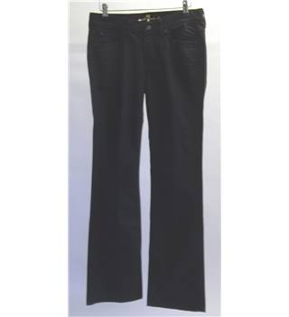 For All Menkind Black Jeans Size: 10