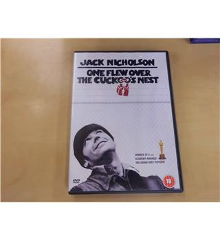 One flew over the cuckoo's nest 18 DVD
