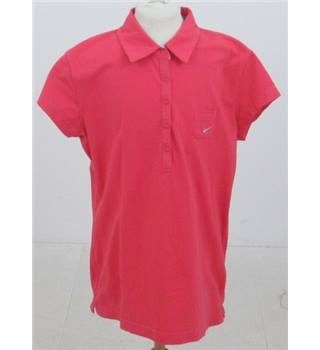 Nike size XL red short sleeved top