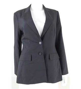 Whistles Express Size 12 Black Tailored Blazer