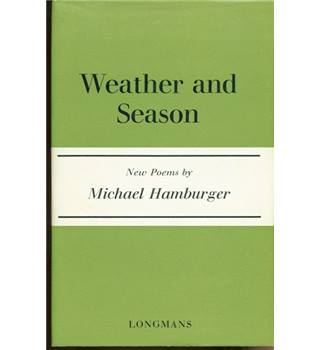 Weather and Seasons  1st edition. Signed copy