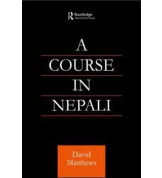 A course in Nepali