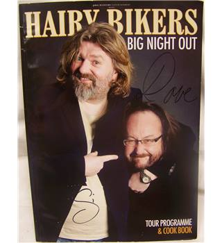 Hairy Bikers Big Night Out ( Signed front cover)