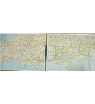 Geographia Maps - Sheet 17 & 18 Dorset Hampshire
