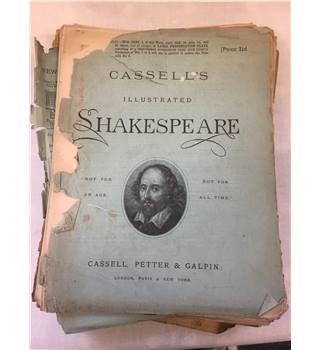 A Set of 20 Magazines 'Cassell's iIlustrated Shakespeare'