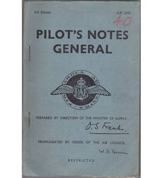 Pilot's Notes General 3rd Edition Air Ministry