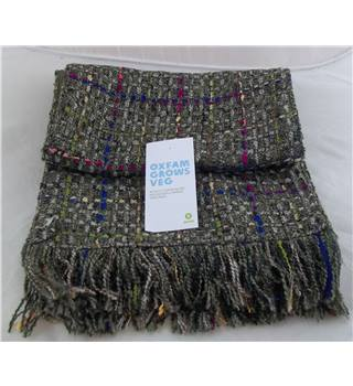 Dents Unisex Tweed Design Scarf with Labels. Dents. - Size: One size - Multi-coloured